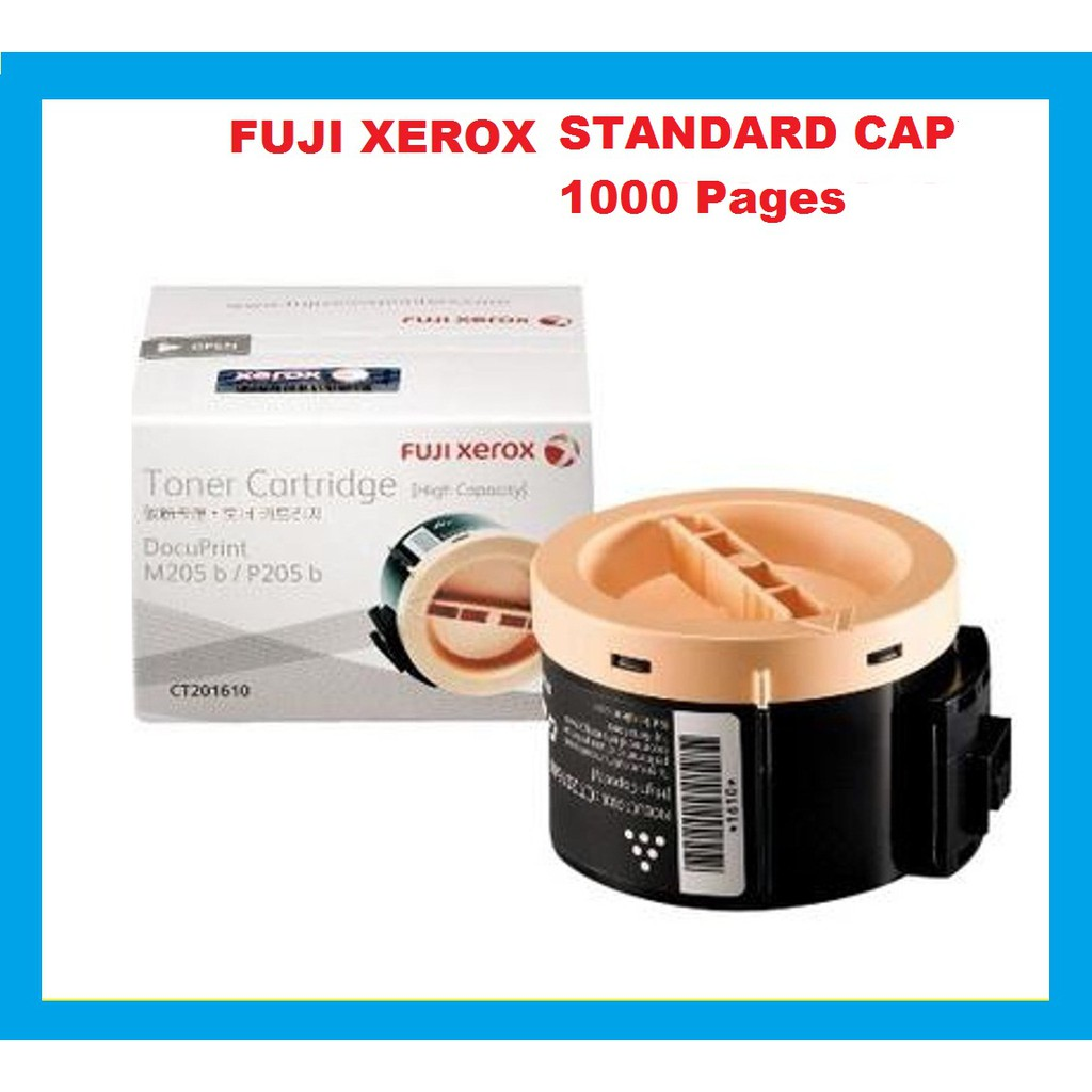 Fuji Xerox P205b M205b M205f M205fw Black 1K Toner (Genuine) CT201609