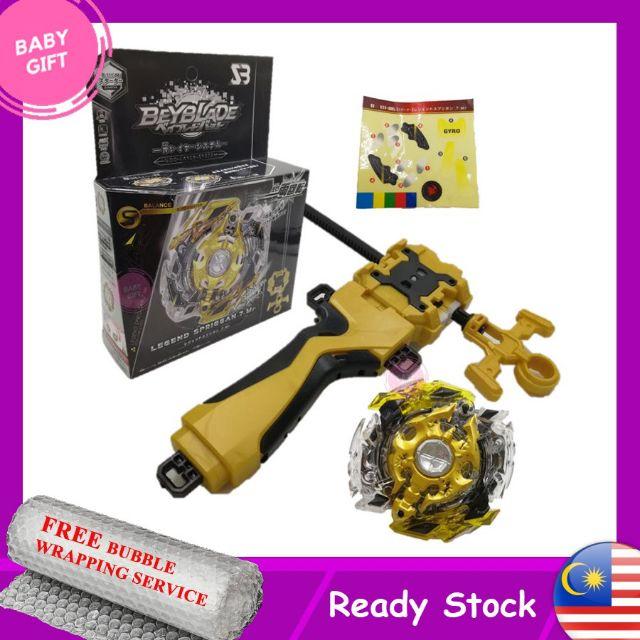 Special Edition Beyblade Burst Gold GT B-149 Lord Spriggan W// Launcher Grip Gift
