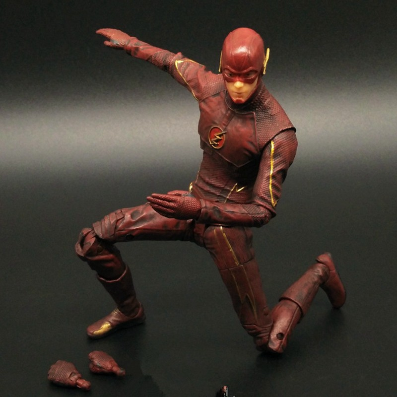 16cm DC The Flash Bart Allen Barry Hero Action Figure Collectible