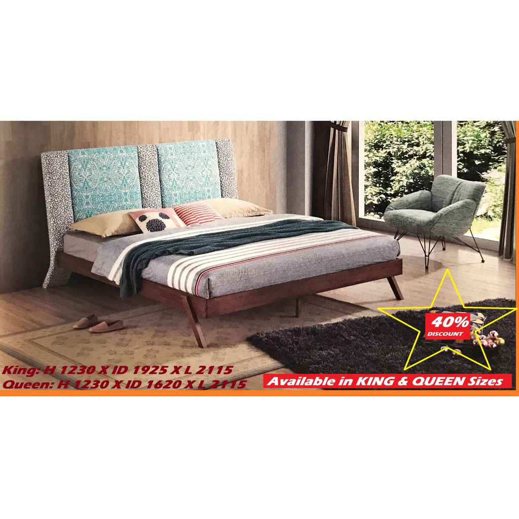 IMPORTED DESIGNER SERIES BED, KING SIZE, 2021 EDITION 1