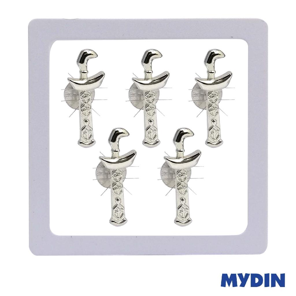Armaan Button Keris Rhodium SABTTR-7 #Raya