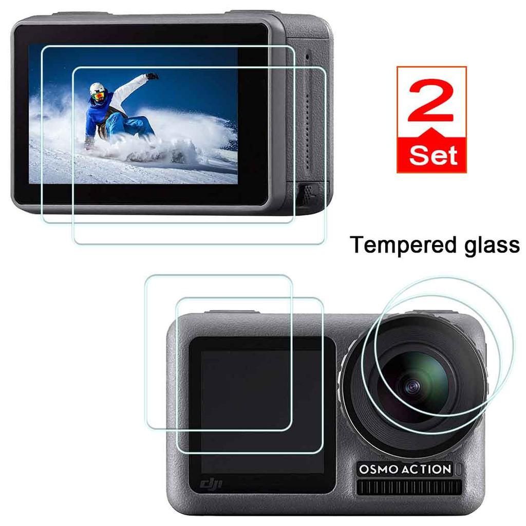 Screen Protector Plastic Film Screen Clear Display + Lens 6x DJI Osmo Pocket