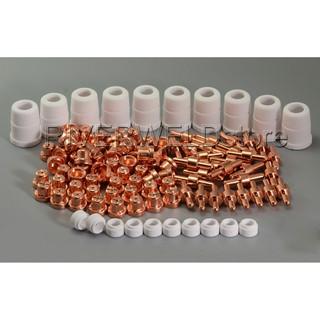 0408-2405 SAF 20//40//100 Plasma Nozzle Shroud Ceramic Assembly C//W Boss 2PK