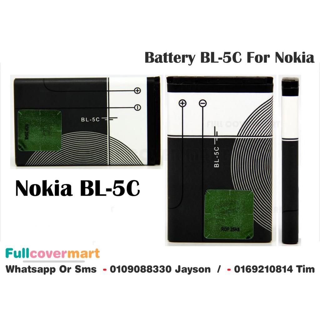 Nokia Battery Bl 5c Shopee Malaysia Baterai Bl5c Bl4c