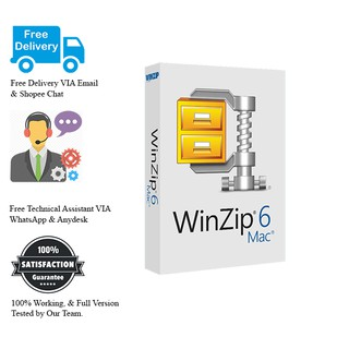WinZip Mac Pro 6 For Mac Full Version | Shopee Malaysia