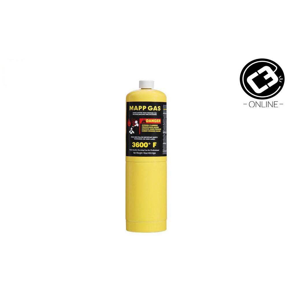 Mapp Pro Gas cylinder for welding gun welding torch mapp gas 16oz/453 6g