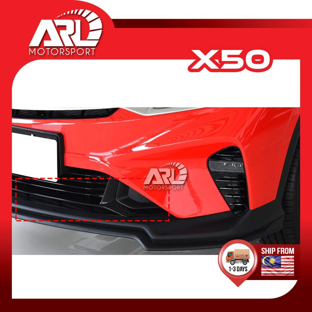 Proton X50 2020 2021 Fog Lamp Cover Bumper Side Car Auto Acccessories ARL Motorsport