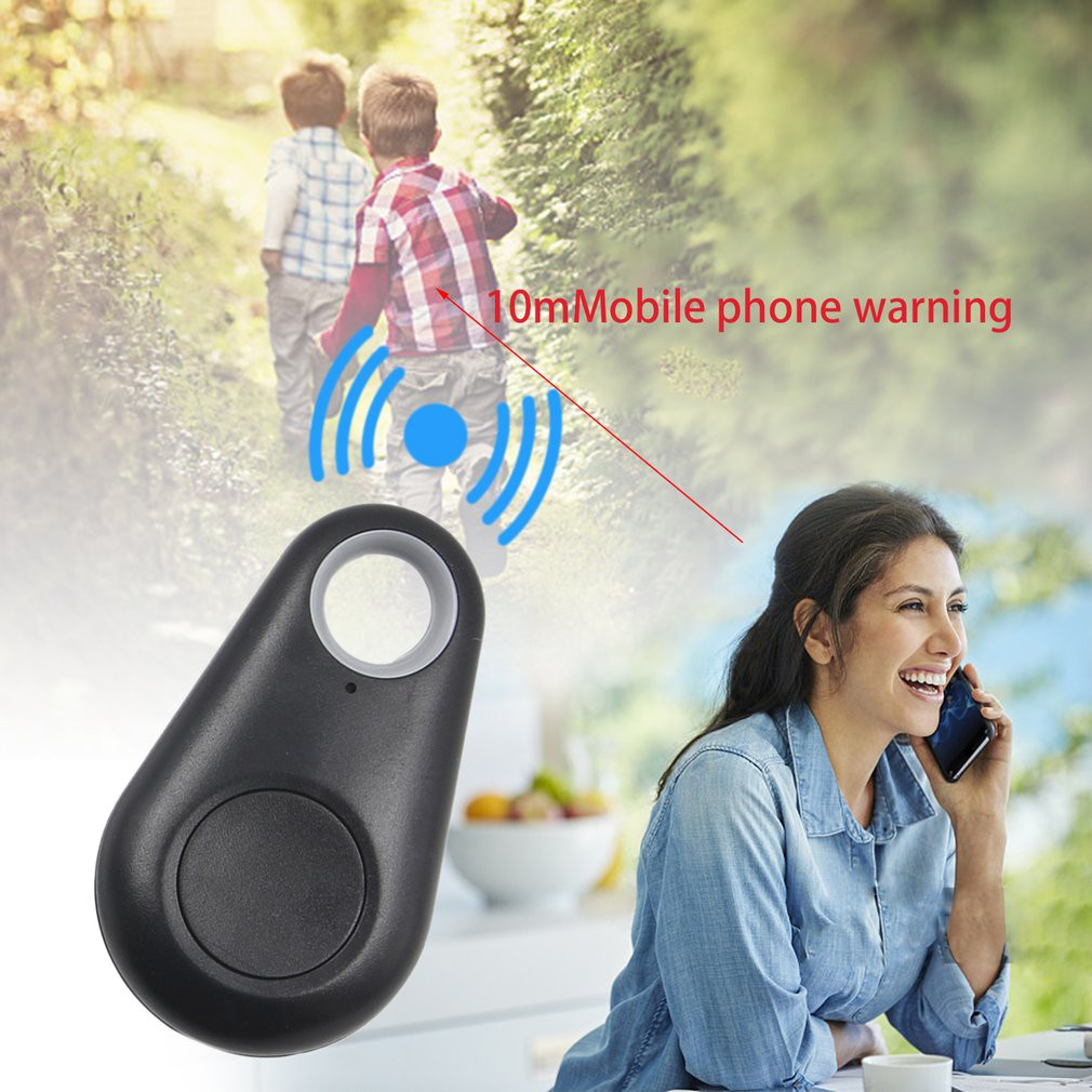 Bluetooth 4.0 Smart Finder Bidirectional Anti Lost GPS Alarm Device Intelligent Pet Child Tracing Locator Wallet Key Tracker