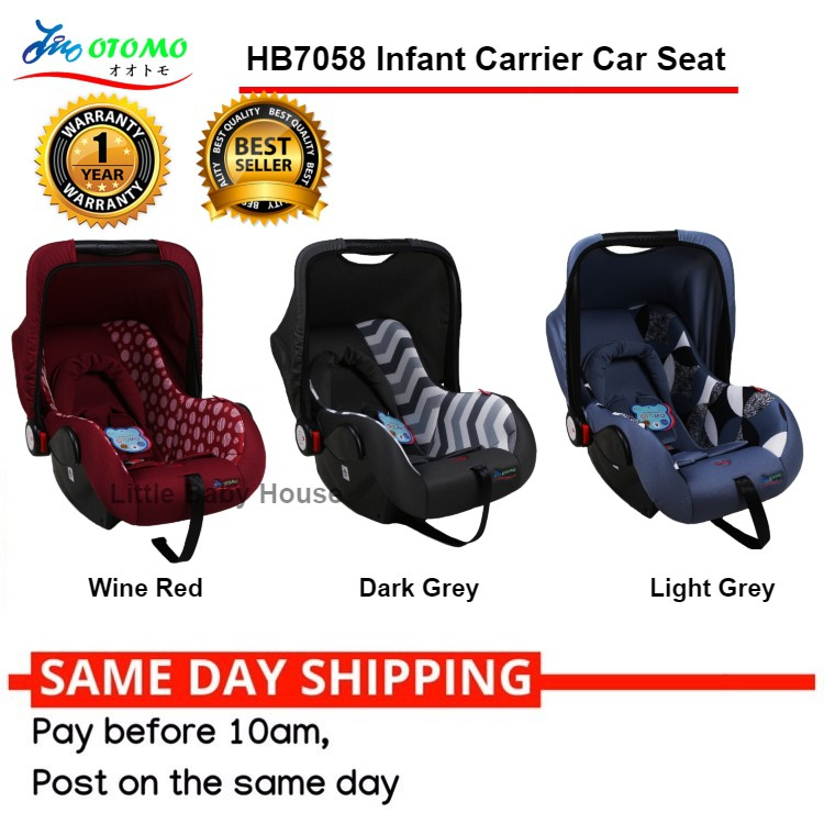 09d0dfe9410 🎉🔥12.12 SALES🎉🔥 Otomo HB7058 Baby Carrier Car Seat New Born to 2 Yrs  Old