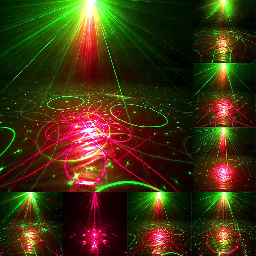 Led Weihnachtsbeleuchtung Laser.120 Patterns Laser Projector Stage Lights Rgb Christmas Party Ktv Dj Disco L