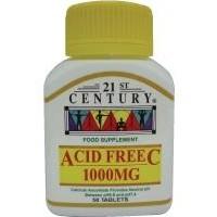 21st Century Acid Free Vitamin C 1000mg 50 Tablets