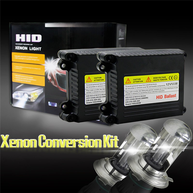 55W HID BI-XENON Conversion KIT DUAL BEAM Hi /& Low H13 6000K 6K BALLASTS 3200LM