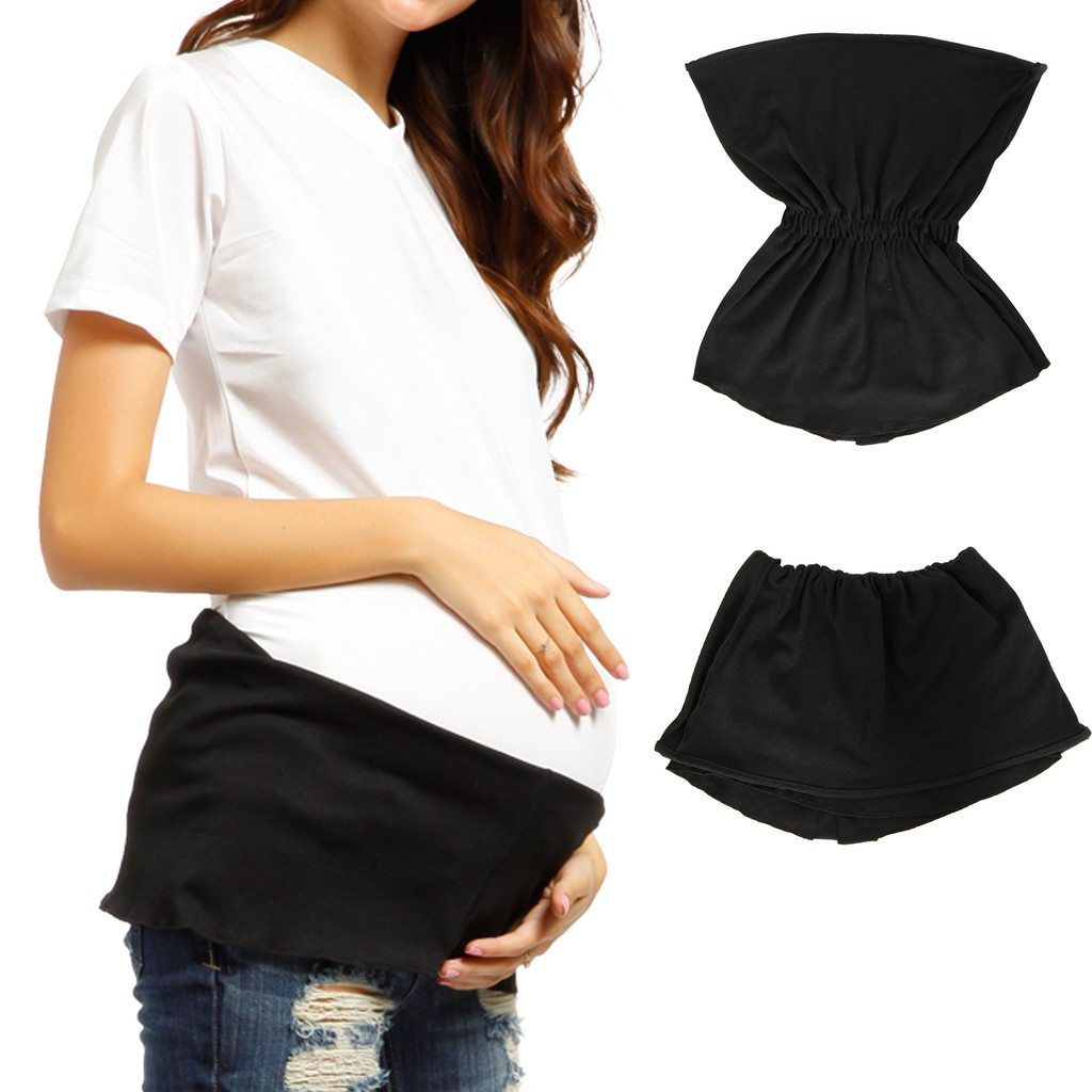 66dbeb3d63611 Pregnant Extend Stretch Belt Waist Belly Band Regular Pants To Maternity  Wear | Shopee Malaysia