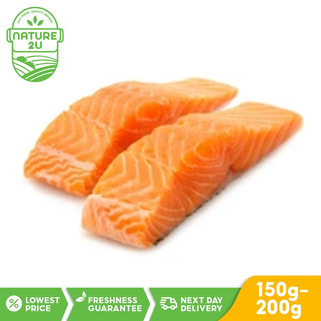 Norway Premium Salmon Fillet 1 PC (150-200gm)