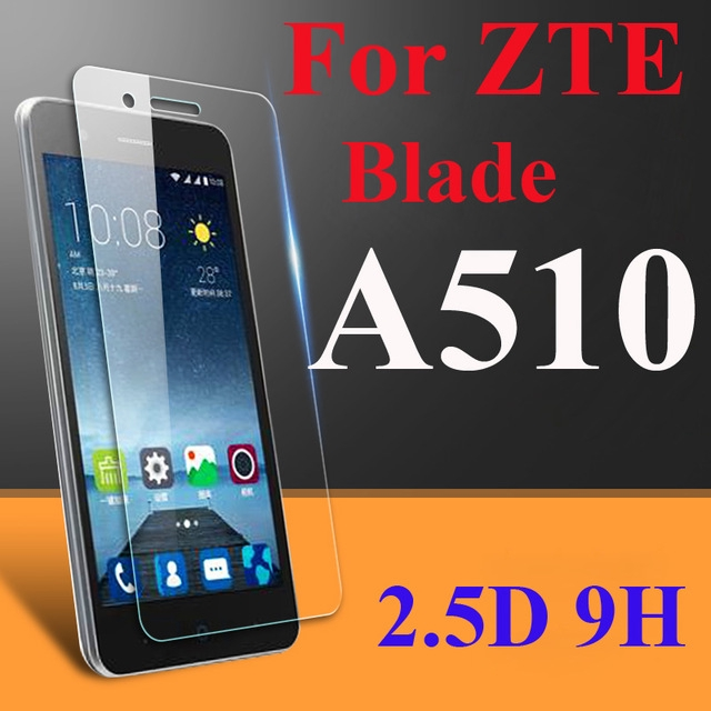Tempered Glass For ZTE Blade A510 / A510T / BA510 Screen Protector