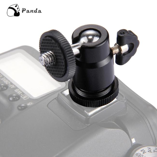Aluminium Ball Head,K26 360/° Rotatable Mini Tripod Monopod Dual Opening Ball Head with 1//4 Inch Mount for SLR Camera.