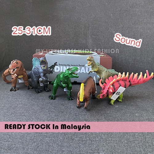 Ready Stock Dinosaur Dinasours toys for kids with sound Toys for boys