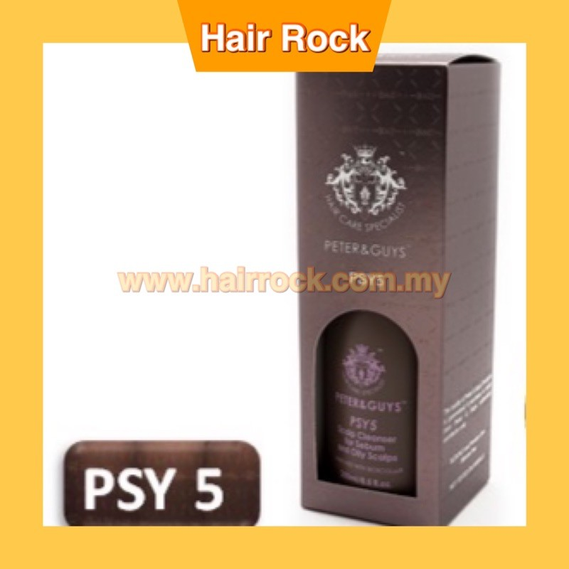 PSY5- Peter & Guys Bioecolia® Scalp Scrub Cleanser for Sebum and Oily Scalps 250ml