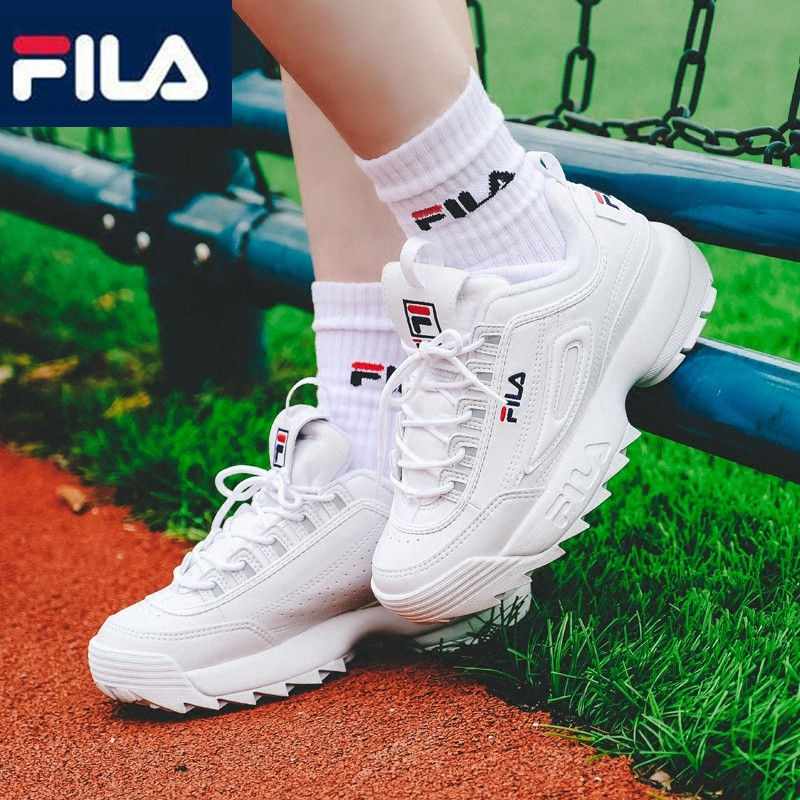 5dae776b095f Ready Stock Original FILA Disruptor II 2 Women men Couples Running tags  Shoes