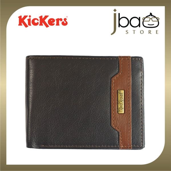 Kickers KDPD-N-50851 RFID Secure Protection Men Leather Wallet Radio Frequency Identification