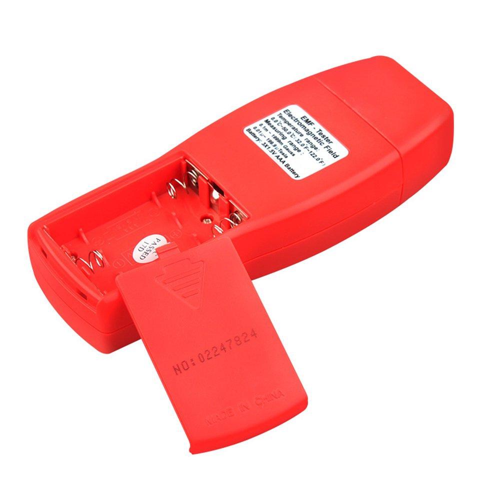 Digital Electromagnetic Radiation Detector Handheld EMF Meter
