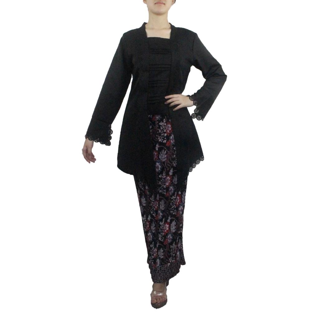 Kebaya Tulip Free Batik Sarung Prisket
