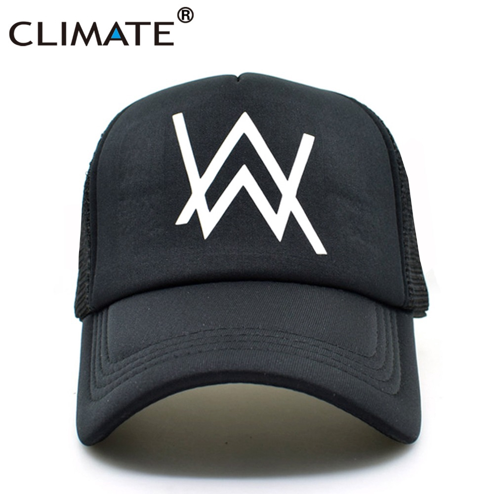f2206cd58 Alan Walker Trucker Cap Faded Cool Popular Music Faded HipHop Cool Baseball  Mesh Net Trucker Cap Hat