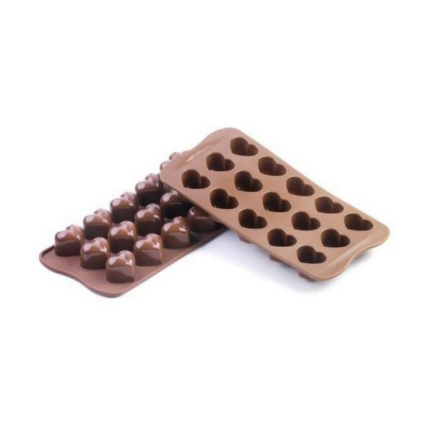 Silikomart, Chocolate Mould, Silicone, Heart