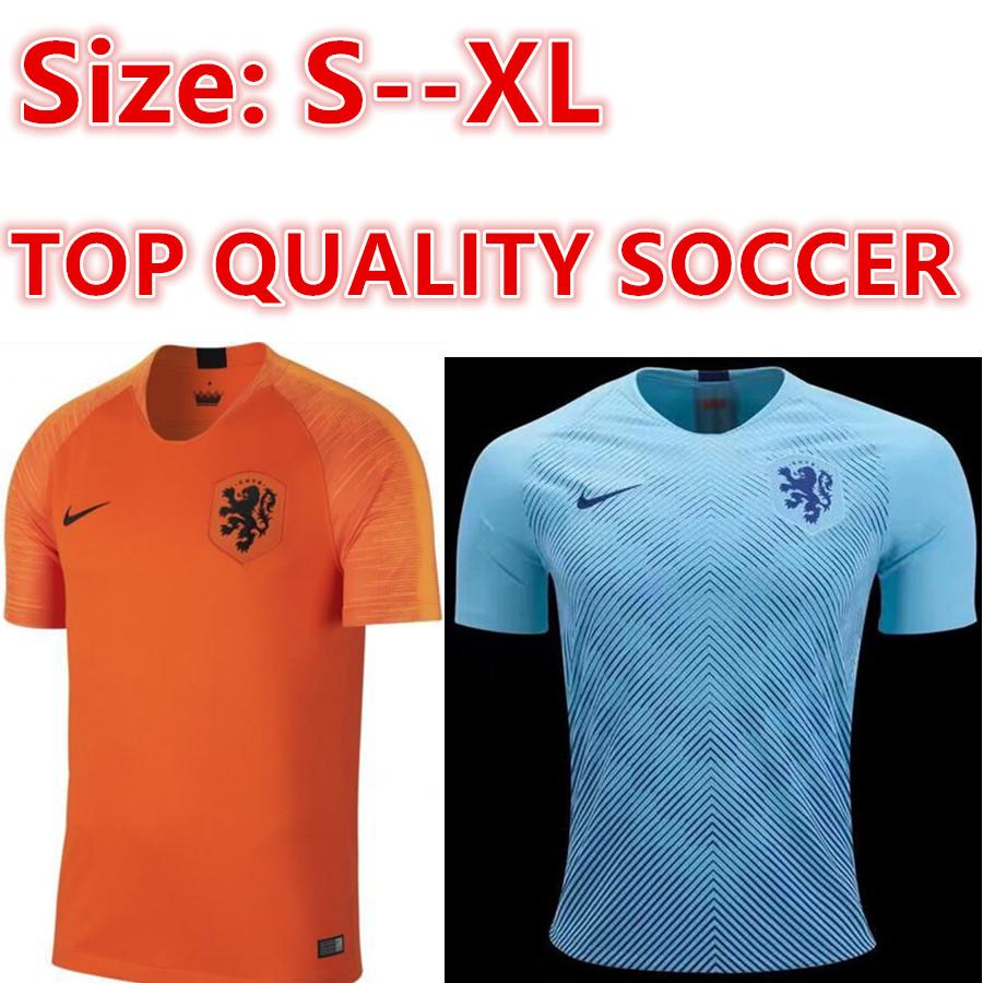 quality design 95ecc bc028 netherlands home Away soccer jerseys top quality maillot de foot