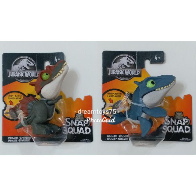 Figure Brand News Jurassic World Mattel Snap Squad /> Wave 4 /> Spinosaurus