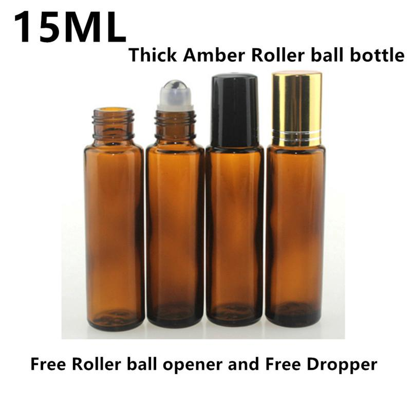2adf6d8f669f 25PCS 2ml Amber Mini Refillable Glass Roller Ball Bottles | Shopee ...