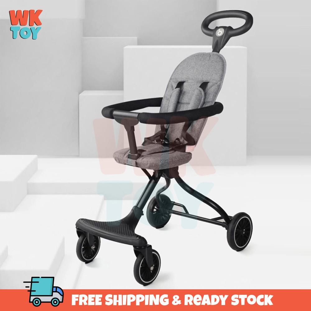 WKTOY BaoBaoHao V2 Ultra Lightweight Foldable Portable Magic Stroller