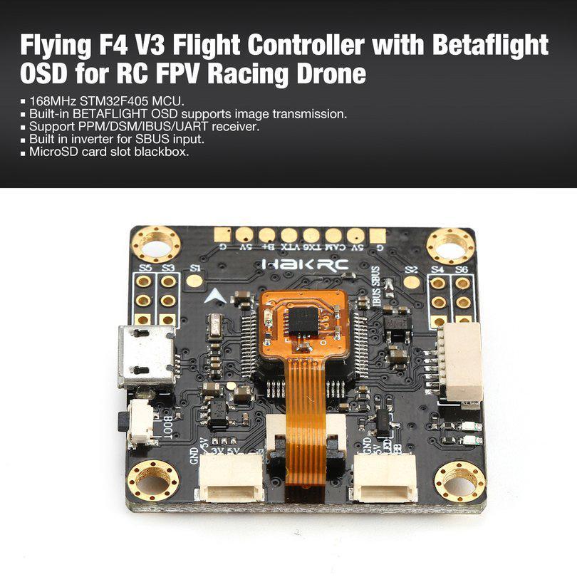 NOXE F4 Flight Controller board MPU6000 OSD sensor 5V/4A BEC