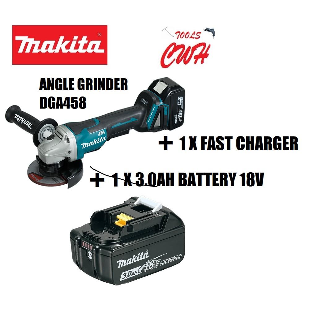 """MAKITA DGA508 125mm 5"""" 18V ANGLE GRINDER CUTTER CORDLESS BRUSHLESS DGA508RFE DGA508Z ANGLE GRINDER CUTTER BRUSHLESS"""