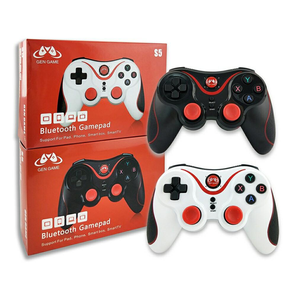 GEN GAME Tourist S5 Bluetooth Wireless Game Handle Holder Bracket Receiver (SET)