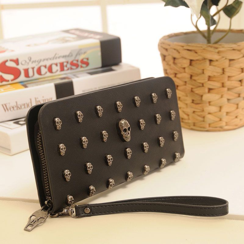 INFINITE Women Retro Long Section Light Retro Card Package Gimmick Buckle Holders Clutch Wallet