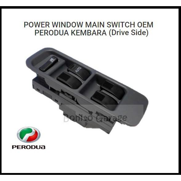 POWER WINDOW MAIN SWITCH OEM PERODUA KEMBARA (Drive Side)