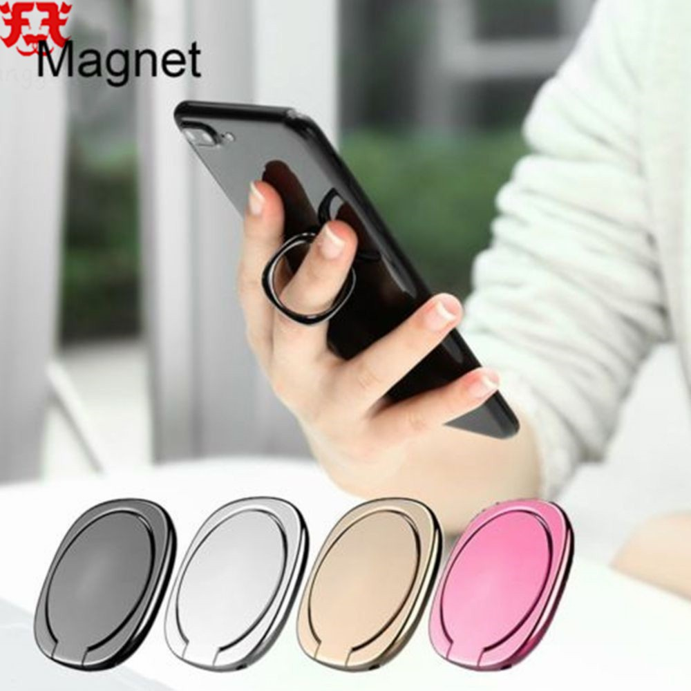 b007f1590 360 Degree Metal Finger Ring Holder Magnetic Universal Mobile Phone Stand  Holder   Shopee Malaysia