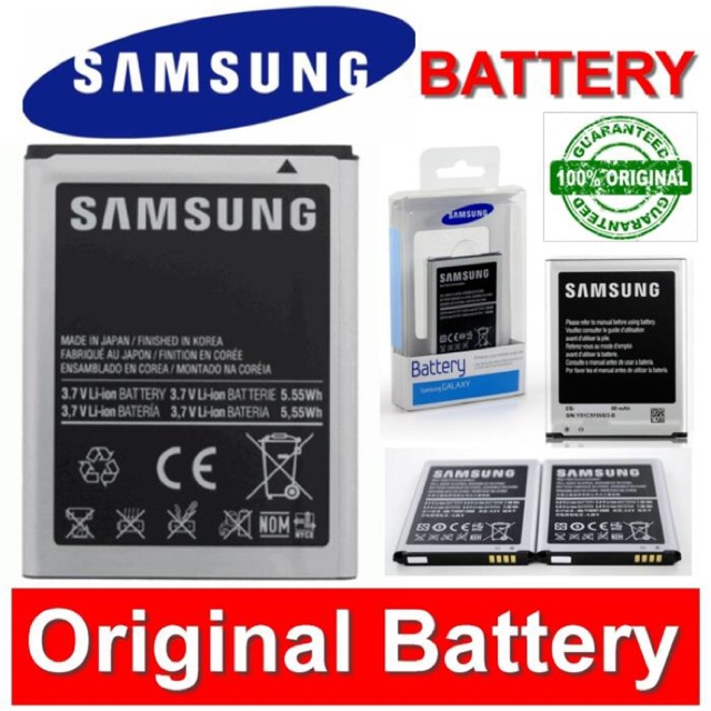 Original Battery Samsung Note 2/3/4/3Neo/S3/S4/S5