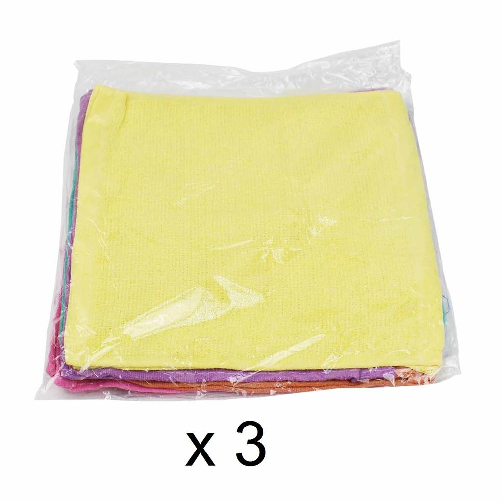 Plain Face Towel MK03 (12pcs x 3)