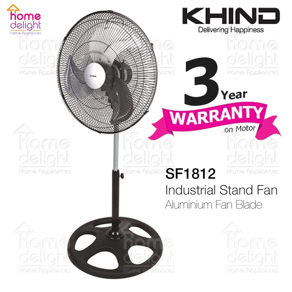 "Khind SF1812 18"" Industrial Stand Fan"
