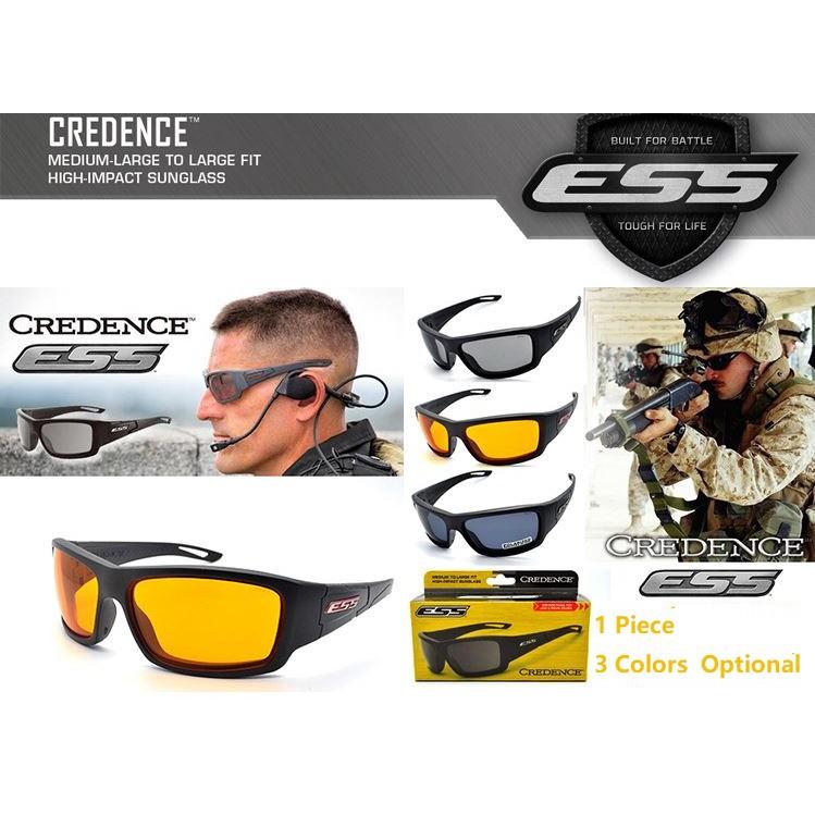 a864f2a29e ESS Rollbar Goggles Polarized CS Tactical Explosion Shot Glasses 4 Lenses