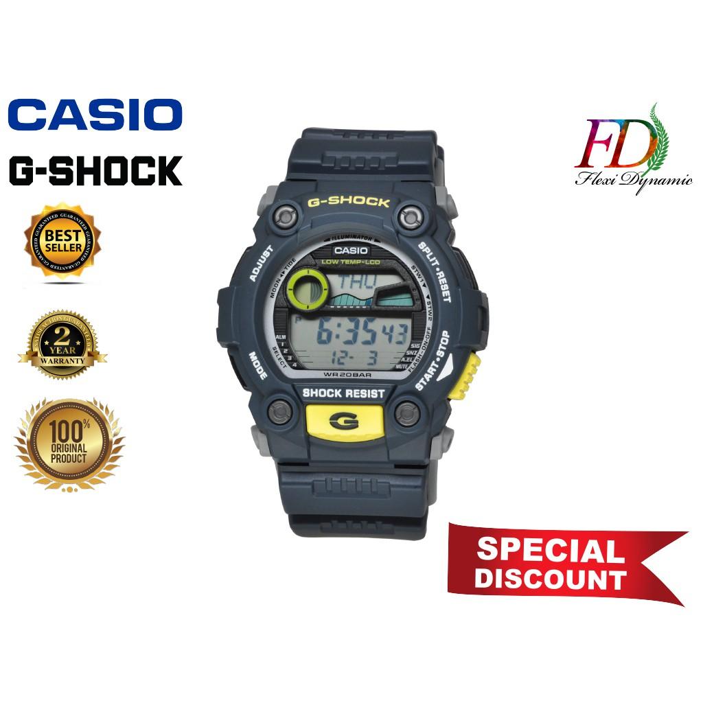 Original G-7900-2 Black Resin Strap Digital Watch/Band Men Sports Watch Casio G-Shock