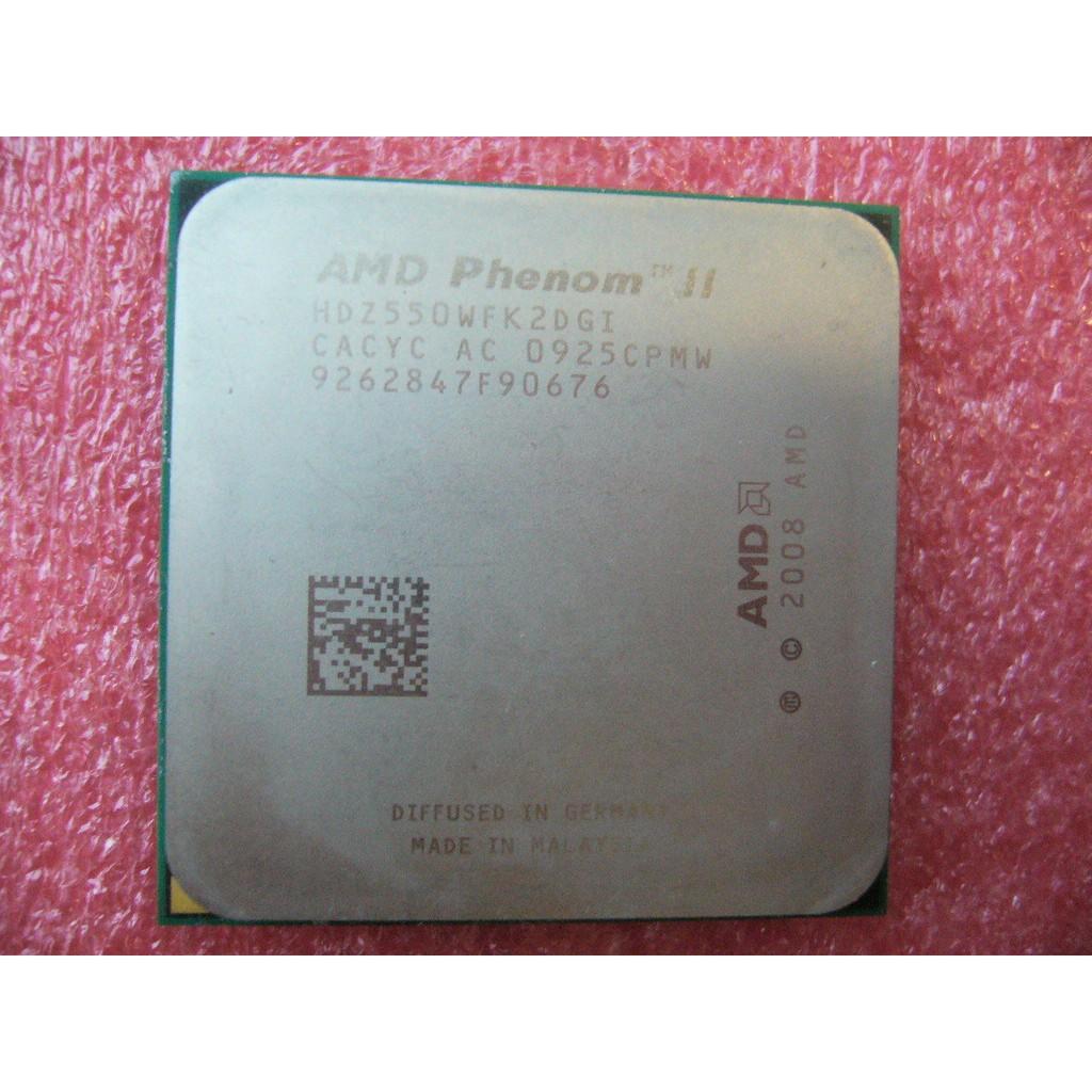 Qty 1x Amd Athlon Ii X3 425 27 Ghz Triple Core Cpu Am3 938 Pin Used Shopee Malaysia