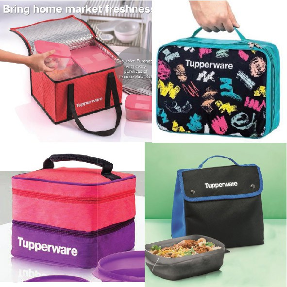 Tupperware Lunch Bag/ Pouch