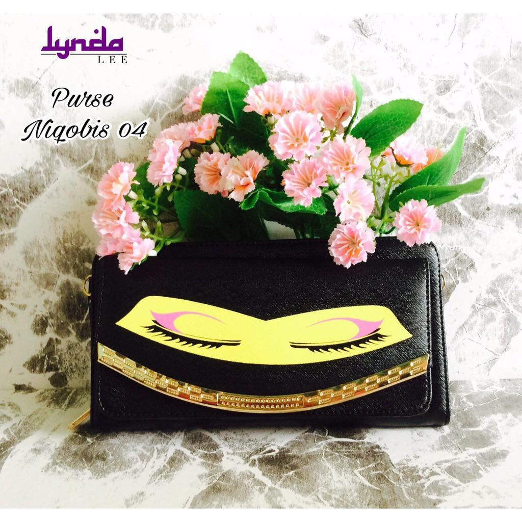 Lynda Lee Women Purse Sling Handbag Beg Niqabis Muslimah Style