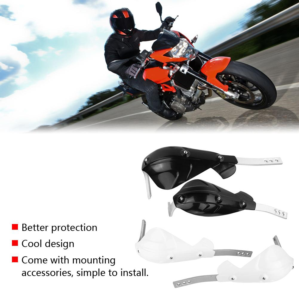 Gorgeri CNC Motorbike Handgrip Guard Brake Levers Protect Guard Motorcycle Protector Handlebar Green