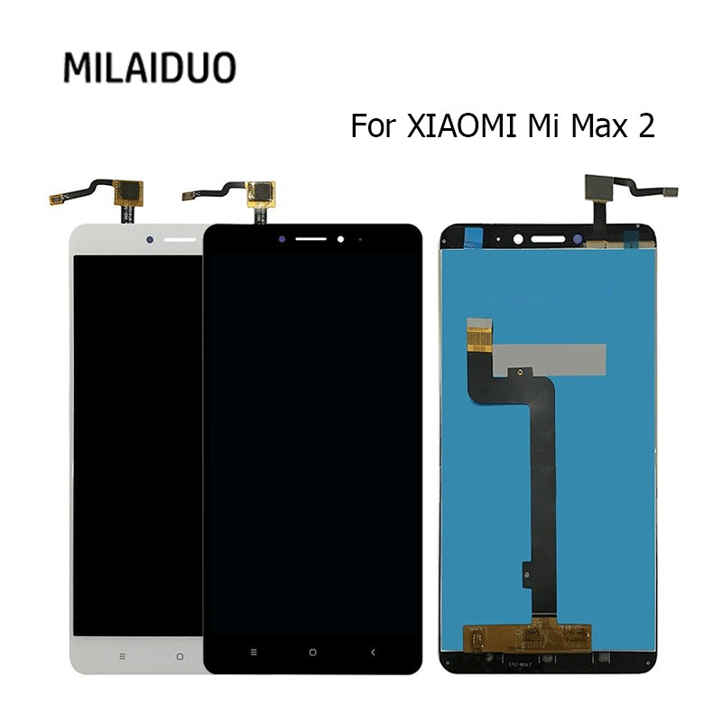 Cellphones & Telecommunications Mobile Phone Lcds For Mi Max 2 Lcd Display Touch Screen Digitizer Assembly Repair For Xiaomi Mi Max 2 6.44 Full Screen For Xiaomi Max 2 Screen