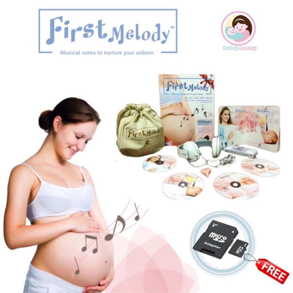 (แถมฟรี!! SD CARD) ชุดหูฟังแม่และลูก รุ่น First Melody คัดสรรเพลงโดย อ.บ