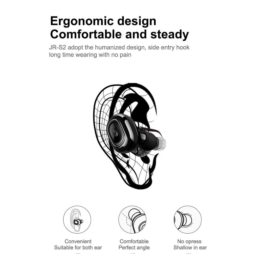 JOYROOM JR-S2 Unilateral Headset Bluetooth earphone forTrend business sport | Shopee Malaysia